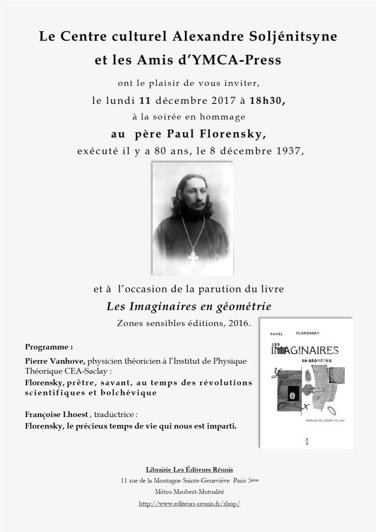 Hommage Père Paul Florensky