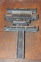 outils typographiques en cyrillique.