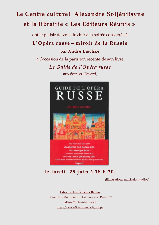 Soirée Opéra Russe